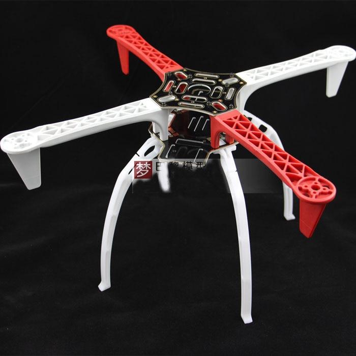 Alta qualidade DIY F450 FPV Quadcopter MultiCopter Kit quadro 450 com alta trem de pouso Skid