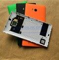 Tampa traseira porta da bateria original para nokia lumia 930 habitação com NFC Antena Chip + Flash Lente Da Câmera de Substituição partes