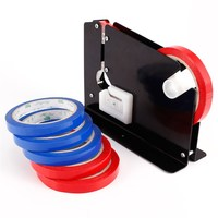 MTGATHER Bag Neck Sealer Trimming Blade Sealing Dispenser 6X Roll Tape Fruit Food Bread 22X15X1 5cm