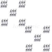 10Sets of 60pcs Locking Guitar Tuners Tuning Keys Pegs Machine Heads 6L Chrome