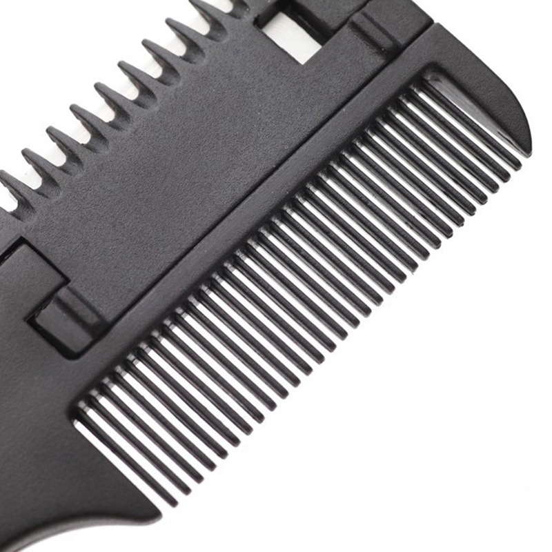 Brainbow 1 unid peine de corte de pelo mango negro cepillos para el - Cuidado del cabello y estilo - foto 6