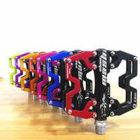 2019 New Aluminum alloy CNC ultralight cycling BMX pedal MTB mountain bike pedals 360 g/pair 6 colors optional