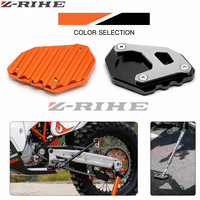 For KTM 1050 1090 1190 1290 Adventure Motorcycle CNC Aluminum Kickstand Foot Side Stand Extension Pad