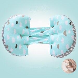 Image 5 - Ayarlanabilir 43*75*10cm hamile kadınlar uyku yastığı bel göbek destek yastık pedi yumuşak gebelik yastığı yan uyuyanlar yastık