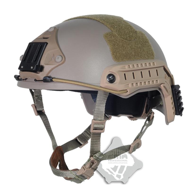 FMA Тактический баллистическая юбка Airsoft Охота арамидных волокно морской арки high cut шлем для airsoft Пейнтбол TB825