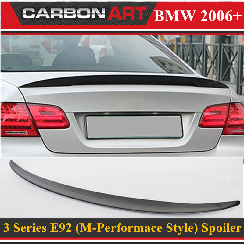 M performance style e92 coupe e93 cabriolet spoiler rear trunk wing for bmw 3 series 2-door 2006 - 2012 gloss black p style x6 f16 m performance style frp primer auto car rear trunk spoiler wing for bmw x6 f16 2014 2016