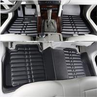 Car Floor Mats Covers Top Grade Anti Scratch 5D Fire Resistant Durable Waterproof Senior Mat For