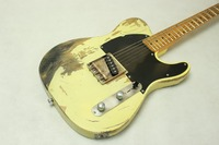 handmade heirloom relic TL brass saddles and aged hardware electric guitar brass saddles and aged hardware ASH wood body