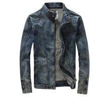 New Retro Classics Denim Jacket Spring Autumn Men Vintage Casual Slim Jackets Men S Coat Jeans