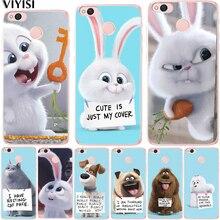 VIYISI Phone Case For Xiaomi MI8 Redmi 6 6A 4 4A 4X 5A Rabbit Animals NOTE Mi6 A1 5X Cover Coque Capas Capinha Back Bags