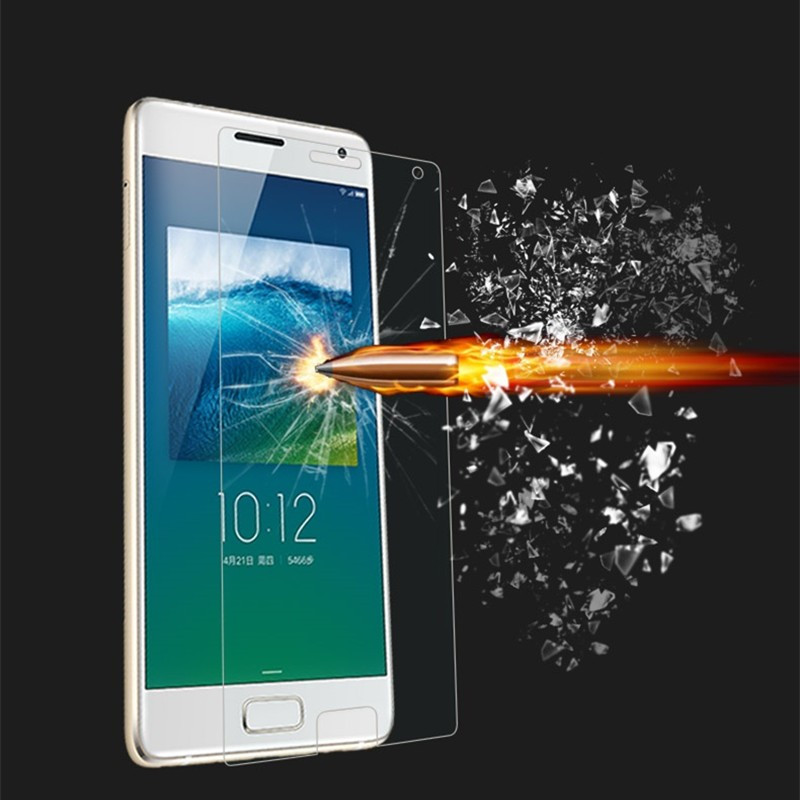 JIANGNIUS Screen Protectors 100 PCS 0.26mm 9H 2.5D Explosion-Proof Tempered Glass Film for Meizu M8c