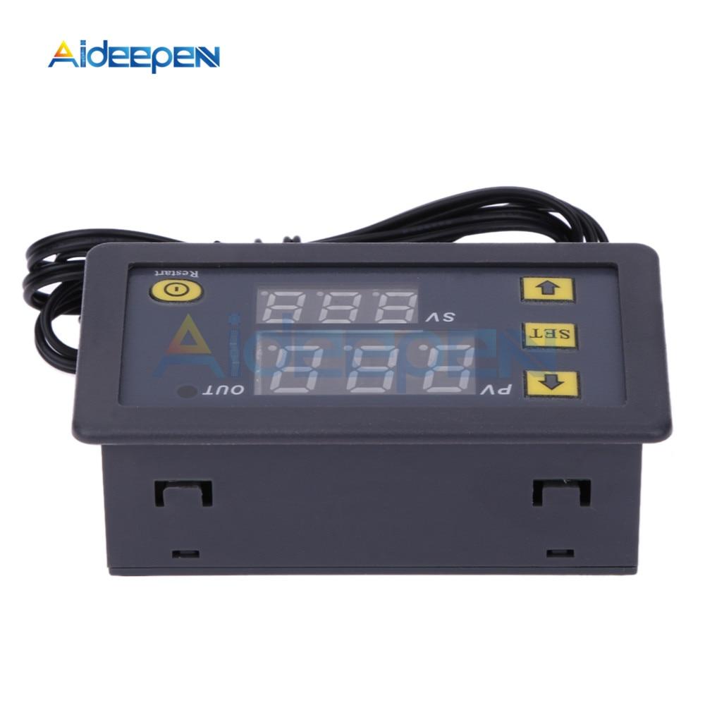 HTB1n9BpKuSSBuNjy0Flq6zBpVXaT W3230 AC 110V-220V DC12V 24V Digital Thermostat Temperature Controller Regulator Heating Cooling Control Instruments LED Display