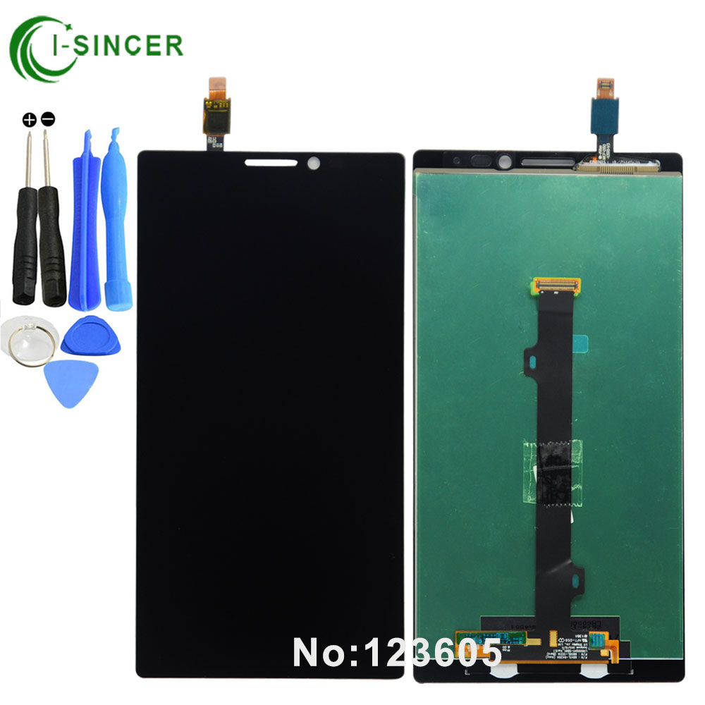 For Lenovo Vibe Z2 Pro K920 Full LCD Display + Touch Panel Screen Glass Assembly Replacement Parts +Tools Free shipping аксессуар чехол lenovo k10 vibe c2 k10a40 zibelino classico black zcl len k10a40 blk