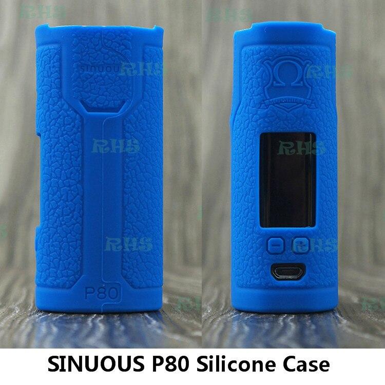 RHS SINUOUS P80 Fall/2 ml SINUOUS P80/80 watt Schützen Silikon fall SINUOUS P80 elektronische zigarette starter kit kostenloser versand
