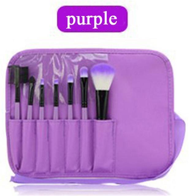 Makeup Brush set Бросился Продвижение Макияж Наборы Кисти Maquiagem Канал Макияж Brush Set Box 7 pc/Sets Высокого класса Косметические мешок