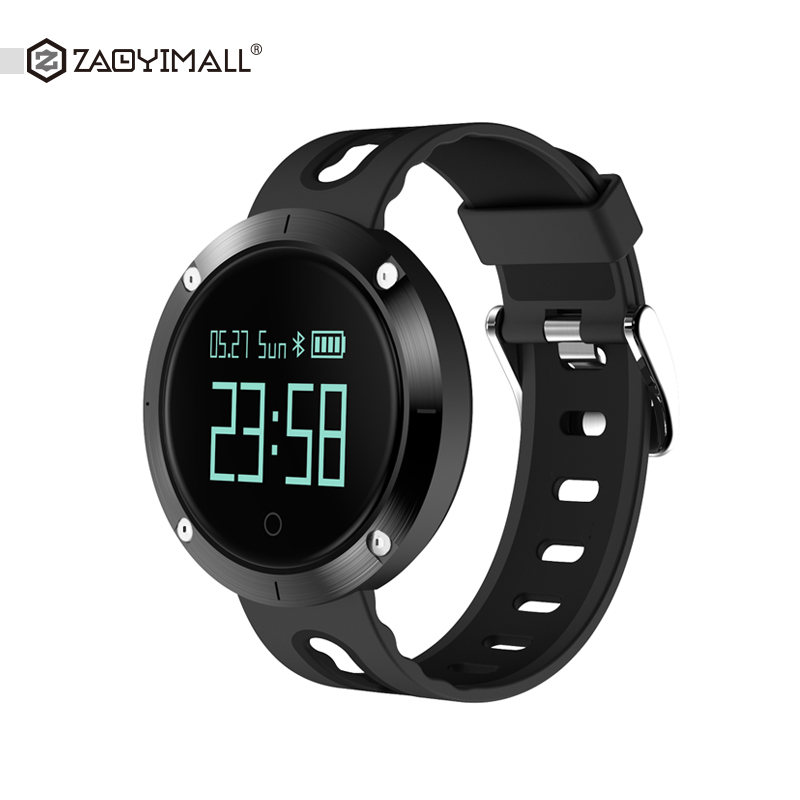 ZAOYIMALL DM58 Smart Band Heart Rate Blood Pressure Watch IP68 Sports Bracelet Smart Wristband Fitness Tracker