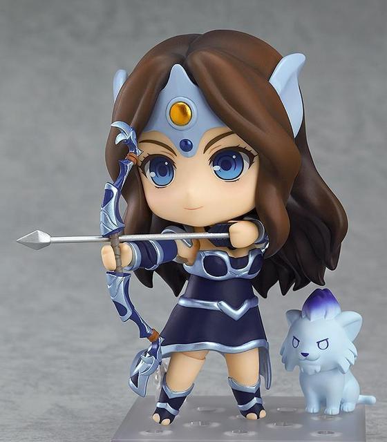 Nendoroid 614 10 Cm Kawaii Cute Dota 2 Juego Mirana Nightshade Pom