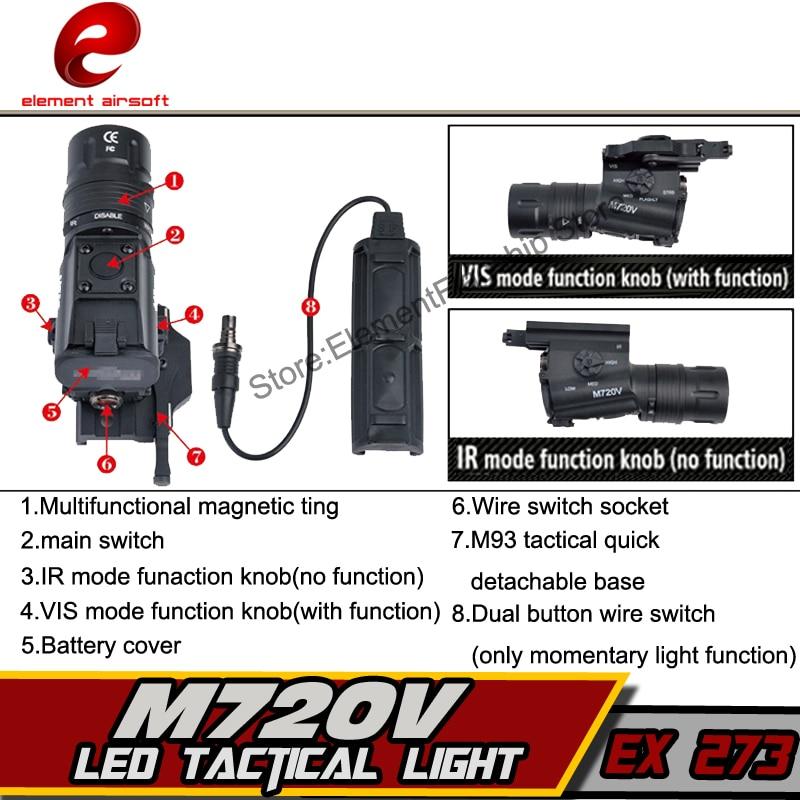 elemento airsoft caca lanterna pressao aumentada m720v 04