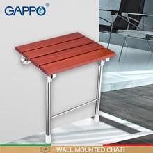 GAPPO, настенное сиденье для душа, Складная Скамья для детского туалета, складные душевые стулья для ванной, табурет для душа, стул для ванной