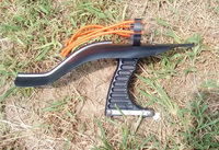 New Elastic Hunting Fishing Slingshot Shooting Catapult Bow Arrow Rest Bow Sling Shot Catapult Crossbow Bolt Shooting Fish