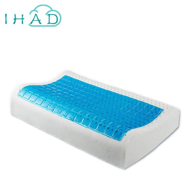 Ihad Refreshing Gel Latex Pillow For Summer Health Care
