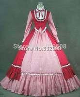 Victorian Gothic Dress Ball Gown Prom Steampunk Punk Reenactment Dresses
