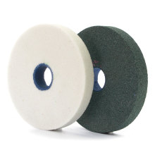 1 piece 150 25 32 hole GC WA A grinding wheel green white brown color abrasive grain size 46 ~120 TZ78