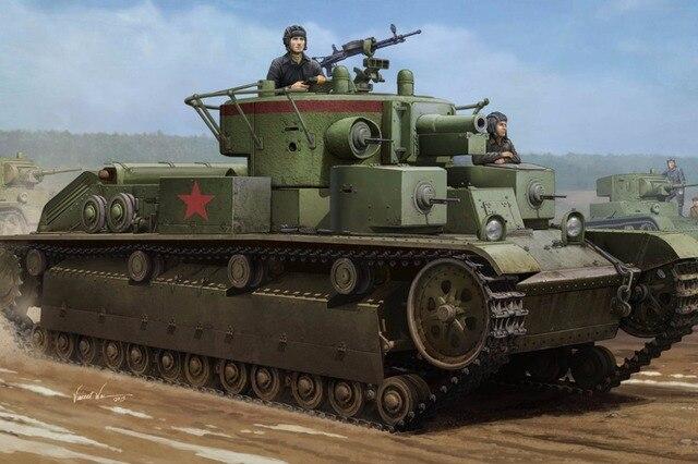 Hobby Boss #83852 1/35 Soviet T-28 Medium Tank (Welded)