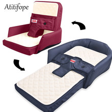 Foldable Baby Bed Travel Bassinet Functions As A Diaper Bag And Changing Station Baby Bag Newborn Carrier Infant folding crib(China)