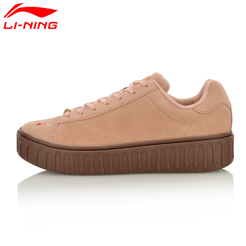 Li Ning 2018 new Women The Trend Series Stylish Shoes Leisure Sneakers Breathable LiNing Sports Shoes AGLM106-in Walking Shoes from Sports & Entertainment    1