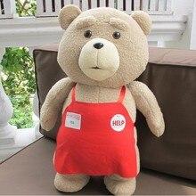 2016 Movie Teddybeer Ted 2 Pluche Speelgoed In Schort Zachte Knuffels 45Cm