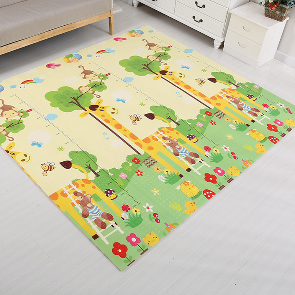 180X200CM Baby Play Mat Crawling Double Baby Children's Rug Puzzle Carpet In The Nursery Rug Developing Mat For Baby Game Mat 120cm play mat baby blanket inflant game play mats carpet child toy climb mat indoor developing rug crawling rug carpet blanket