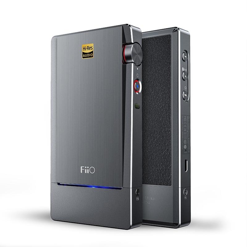 FIIO Q5 HIFI AMP DAC Flagship Bluetooth e DSD-In Grado Portatile Decoder MFi USB Amplificazione del Suono AK4490EN