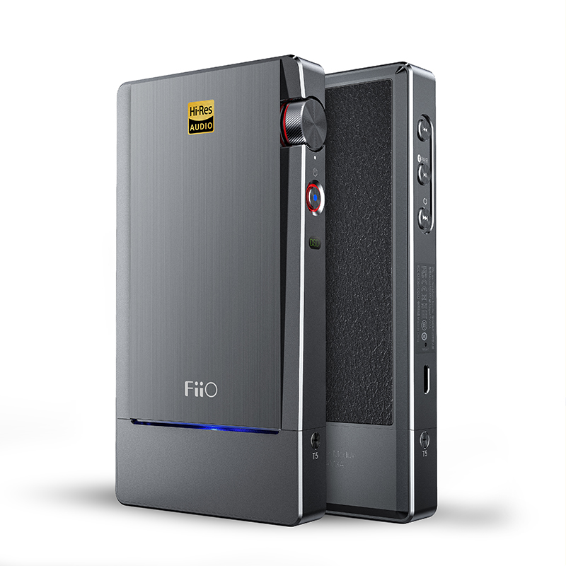 FIIO Q5 HIFI AMP DAC Phare Bluetooth et DSD-Capable Portable Décodeur USB Imf Son Amplificateur AK4490EN