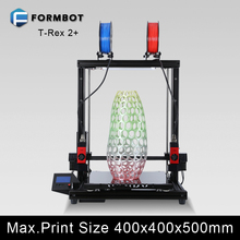 MK8 extruder T-Rex 2+ promotional private 3d printer top quality with low value