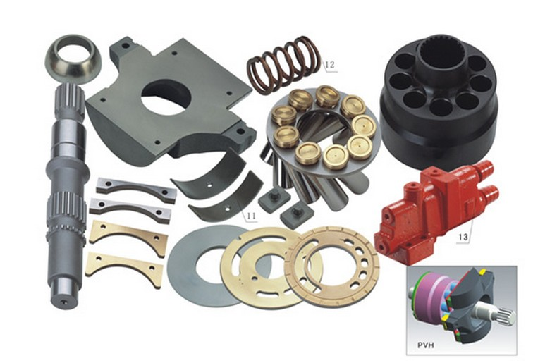 Repair kit hydraulic piston pump Parts for EATON VICKERS hydraulic pump PVH74 spare parts rexroth repair kits hydraulic piston pump parts a10vso85 valve plate saddle bearing seal kit spare parts