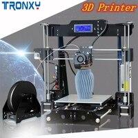 TRONXY P802M DIY 3d принтер комплект 220*220*240 мм размер печати Поддержка Off line печать 1,75 мм 0,4 мм