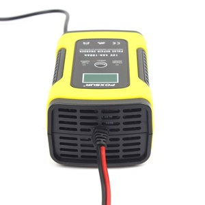 Image 5 - 12V 5A LCD Car Motorcycle Pulse Repair Battery Charger Lead Acid Storage Charger For Tesla Model 3 Bmw E46 E90 Ford Focus 2 Audi