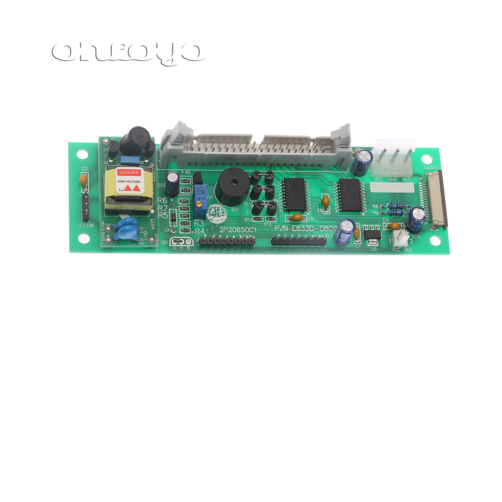 Computer embroidery machine parts, electronic circuit board, supporting DAHAO computer head adapter plate E833