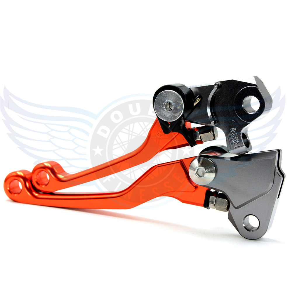 ФОТО motorcycle accessories increased torque of cnc pivot brake clutch levers For KTM AJP PR5 250 2009 2010 2011 2012