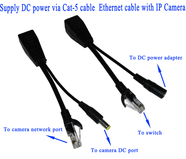 Aliexpress Com Buy Poe Cable Poe Adapter Cable Poe