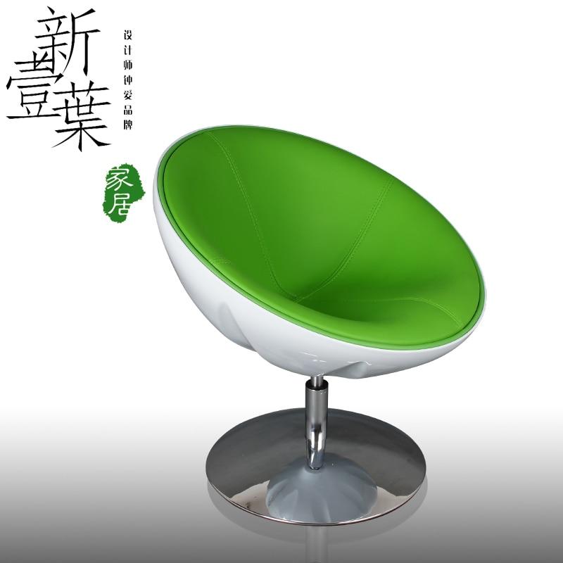 Cheap Half Moon swivel chair IKEA modern minimalist bedroom ...