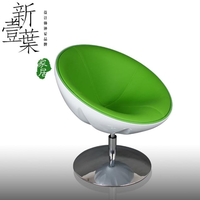 Cheap Half Moon Swivel Chair IKEA Modern Minimalist Bedroom Chair  Restaurant Coffee Lounge Chair Swivel Chair