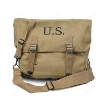 WWII WW2 US Army M1936 muselette Field M36 mochila Haversack Bag Khaki