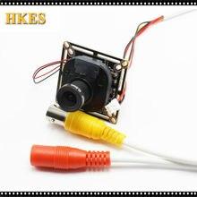 HKES HD 2MP 2.8mm 6mm AHD Camera Ultra Low Illumination 1080P 3000TVL CMOS Security Video HD Analog CCTV Camera For AHD DVR