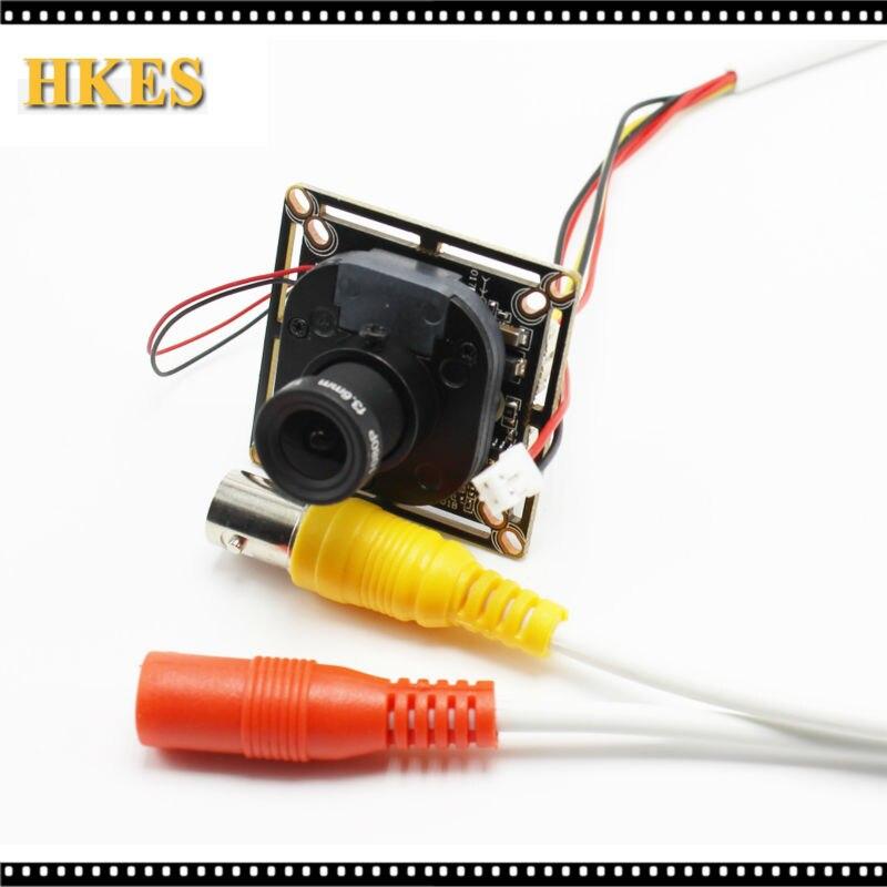 bilder für HKES HD 2MP 2,8mm 6mm AHD Kamera Extrem Geringer Beleuchtung 1080 P 3000TVL CMOS Sicherheit Video HD Analog Cctv-kamera Für AHD DVR
