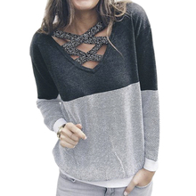 Women Reversible Hollow Out Knitted Sweater Pullover Backless Long Sleeve Two Side Wear Autumn Winter Plus