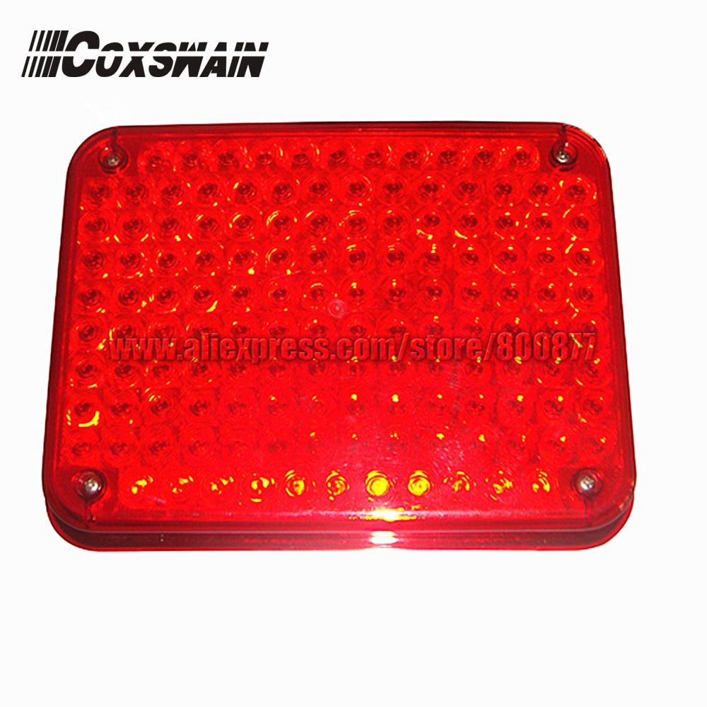 Üli eredad 134 LED-i välised hoiatustuled tuletõrjeautodele ja - Turvalisus ja kaitse - Foto 1