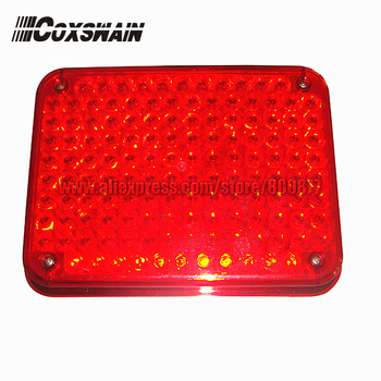 Super bright 134 LEDs external warning lights for fire truck & ambulance car, surface mounting, Waterproof, DC12V or 24V