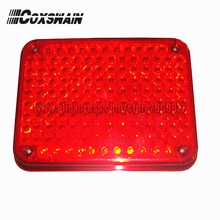 Super bright 134 LEDs external warning lights for fire truck & ambulance car, surface mounting, Waterproof, DC12V or 24V